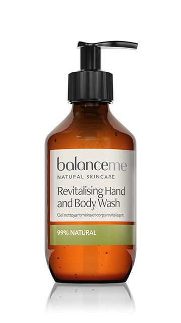 revitalising hand and body wash 280 ml