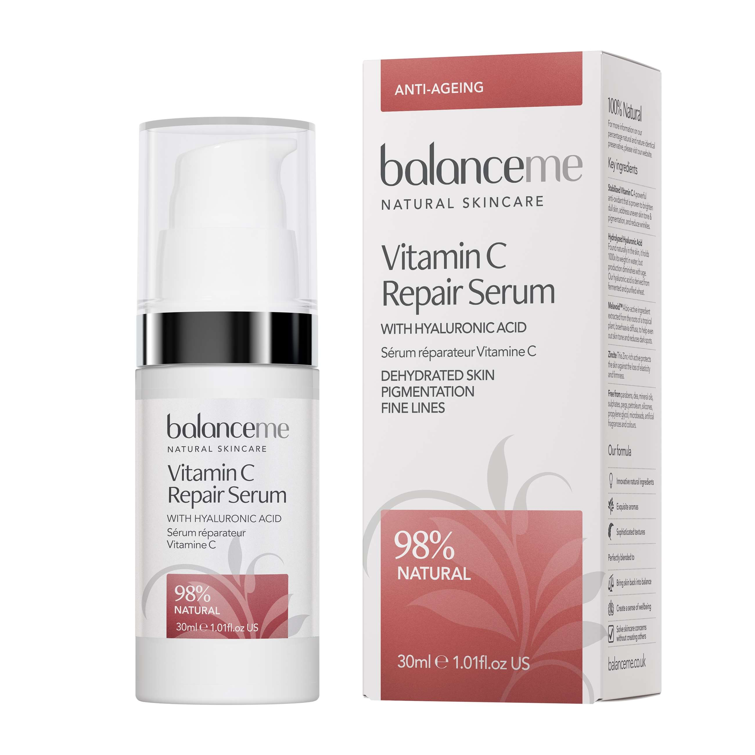 vitamin c repair serum 30 ml m æske
